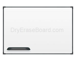 "Ultra Trim Marker Board - Black 33¾""H x 4'W"