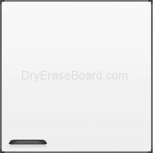 Ultra Trim Marker Board - Black 4'H x 4'W