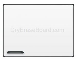 Ultra Trim Marker Board - Black 4'H x 6'W