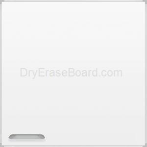 Ultra Trim Marker Board - Silver 4'H x 4'W
