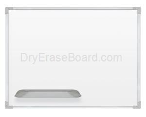 Ultra Trim Marker Board - Silver 3'H x 5'W
