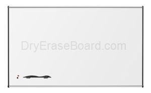 Porcelain Steel Markerboard with Origin Trim - Aluminum 4'H x 6'W
