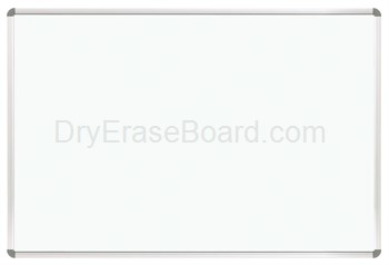 Euro Trim Porcelain Steel Whiteboard 3'H x 5'W
