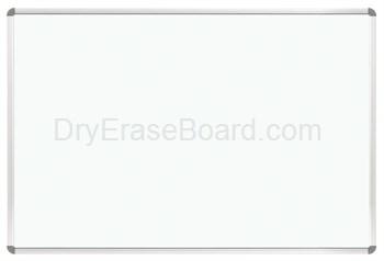 Euro Trim Porcelain Steel Whiteboard 4'H x 10'W