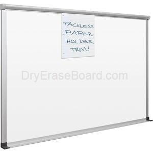 Slim Bite Whiteboard - Dura-Rite Surface 4'H x 4'W
