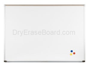 Magne-Rite Deluxe Aluminum  Markerboard - 4'H x 6'W