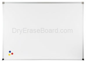 Magne-Rite Standard Aluminum  Markerboard - 4'H x 4'W