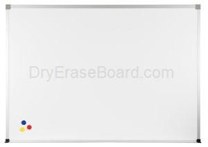 Magne-Rite Standard Aluminum  Markerboard - 4'H x 6'W