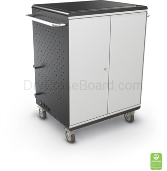 A La Cart Tablet Security Cart (Ready to Assemble)