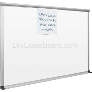 Slim Bite Whiteboard - TuF-Rite Surface 4'H x 8'W