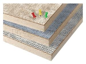 Vin-Tak Tackboards - Panel - Cut Edge 4'H x 4'W