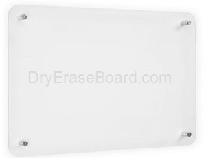 Acuity Wall Mount Frameless Markerboards