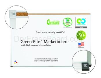 Green-Rite� Markerboards - Deluxe Aluminum Trim