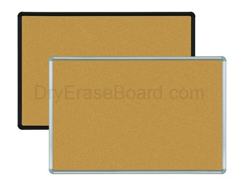 Natural Add-Cork Tackboards - Presidential Trim