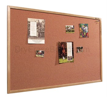 Splash-Cork Tackboards - Wood Trim